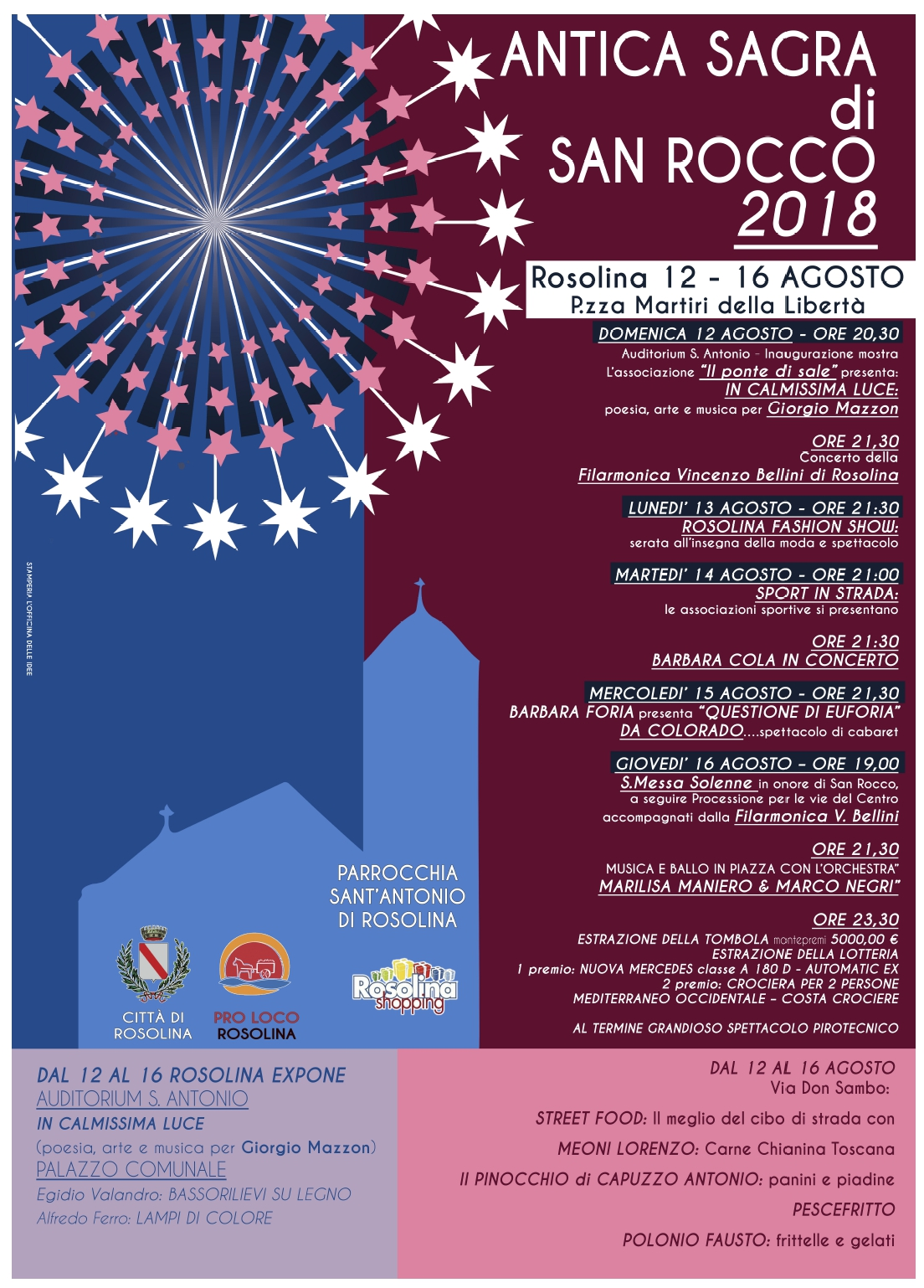Antica Sagra di San Rocco 2018 a Rosolina Mare - Events 2018 at Rosolina Mare